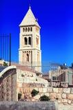 Lutheran Kerk van de Verlosser (1893-1898), Jeruzalem Stock Afbeelding