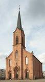 Lutheran Kerk van Vrede, Kehl, Duitsland royalty-vrije stock fotografie