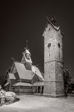 Lutheran parish Wang in Karpacz 2, Poland Stock Photo