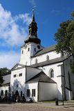 St Mary`s Cathedral, Tallinn, Estonia Royalty Free Stock Photography