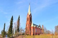 Lutherandomkyrka i Mikkeli, Finland royaltyfri bild