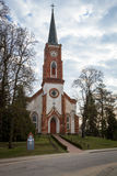 Lutheranic church tower Royalty Free Stock Photo