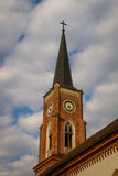 Lutheranic church tower Royalty Free Stock Photos