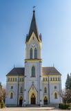 Lutherankyrka i Trinec, Tjeckien Arkivfoton