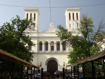 Lutherankyrkan av St Peter och Saint Paul, St Petersburg Arkivbild