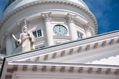 Lutherische Kathedrale, Helsinki, Finnland Stockfoto