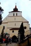 Lutherische Kirche in der mittelalterlichen Stadt Sighisoara Stockfoto