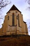 Lutherische Kirche in der mittelalterlichen Stadt Sighisoara Stockfotografie