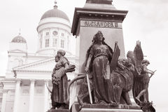 Luthern Cathedral, Helsinki Royalty Free Stock Photos