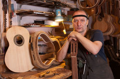 Luthier Stock Image