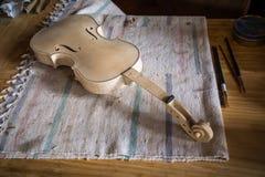 Luthier image libre de droits