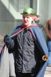 Lutin dans le défilé Ottawa, Canada de jour du ` s de St Patrick Image stock