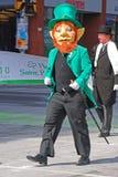 Lutin dans le défilé Ottawa, Canada de jour du ` s de St Patrick Photos libres de droits