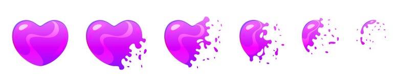 Lutins d'éclat de bulle pour l'animation Photo stock