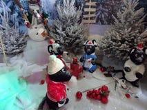 Lutins de Noel a reims royalty free stock photo