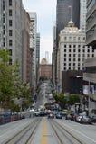 Lutning i San Francisco Royaltyfri Bild