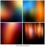 Lutningbakgrundsuppsättning Arkivbilder