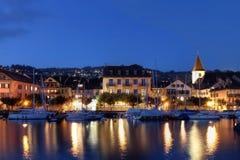 Lutry,瑞士 免版税图库摄影