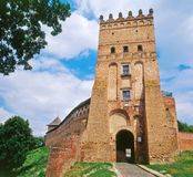 The Lutsk aka Lubart Castle, Ukraine Stock Photography