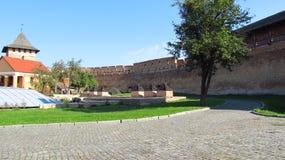 Lutsk, castello di Lubart Fotografie Stock Libere da Diritti