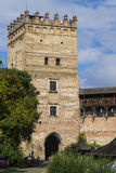 Lutsk castle. One of the famous castles in Ukraine - Lubart`s castle Royalty Free Stock Image