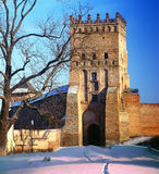 Lutsk High Castle. Also known as Lubart's Castle, began its life in the mid-14th century as the fortified seat of Gediminas' son Liubartas (Lubart), the last Royalty Free Stock Photo