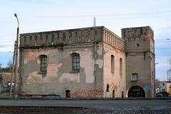Great Synagogue of Lutsk, Ukraine Royalty Free Stock Photos