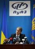 President of Ukraine Viktor Yushchenko Royalty Free Stock Photo