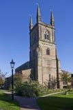 Lutterworth Gemeinde-Kirche Stockfotografie