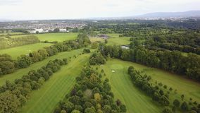Luttrellstown城堡高尔夫俱乐部 图库摄影