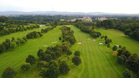 Luttrellstown Castle Golf Club stock image