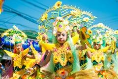 Luty 27, 2015 Baguio, Filipiny Baguio Citys Panagbenga F fotografia stock