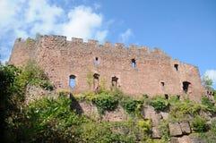 Lutzelbourg城堡 库存图片