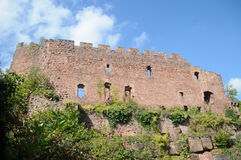 Lutzelbourg slott Fotografering för Bildbyråer