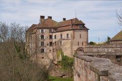 Lutzelstein de château Photo stock