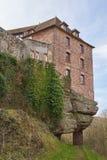 Lutzelstein de château Photos stock