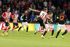Luuk de Jong PSV Eindhoven Royalty Free Stock Photo