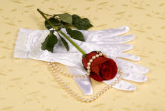 Luva do casamento Imagem de Stock Royalty Free