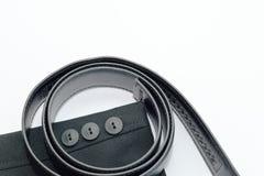 Luva e correia pretas do terno Foto de Stock