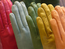 Luvas coloridas imagem de stock royalty free
