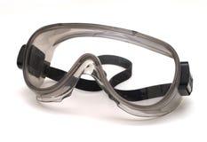 Luvas e óculos de proteção Fotografia de Stock Royalty Free