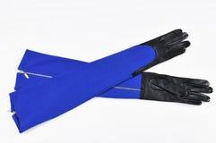 Luvas longas da mulher Imagem de Stock Royalty Free