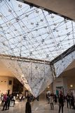 Luvre博物馆 库存照片