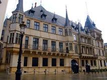 luwembourgluxembourg för stad ducal storslagen slott Arkivbilder