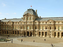 luwr muzeum Paris france Fotografia Royalty Free