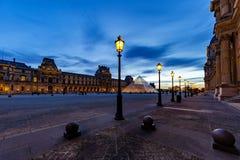 luwr muzeum Paryża obraz stock