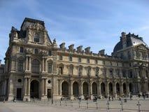 luwr muzeum Paryża Obraz Royalty Free