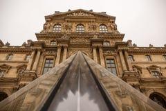 luwr muzeum Paryża Fotografia Stock