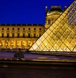 luwr Paryża zdjęcia royalty free