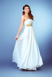 Lux dress Royalty Free Stock Image